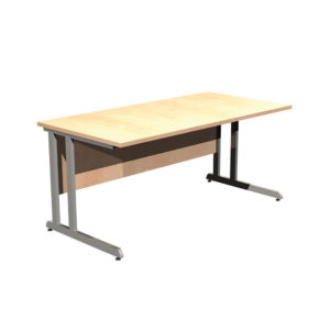 Cantilever Leg Desk Workstations – Straight