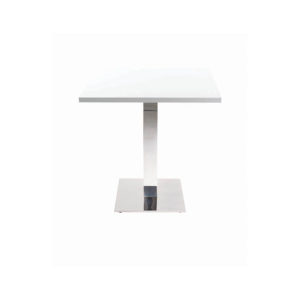 Chrome Square Dining Base