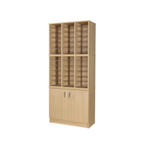 Pigeon Hole Units – 36 hole & cupboard