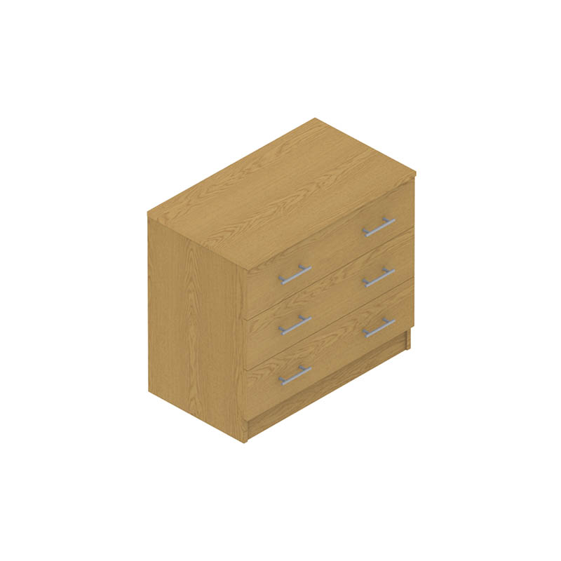 Colorado Dormitories – Chest of (3) drawers