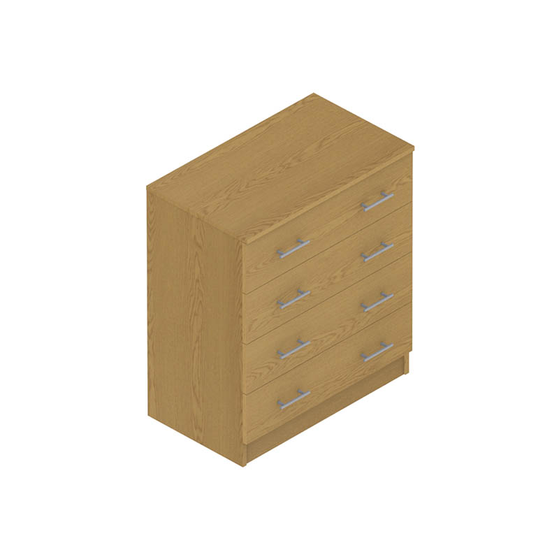 Colorado Dormitories – Chest of (4) drawers