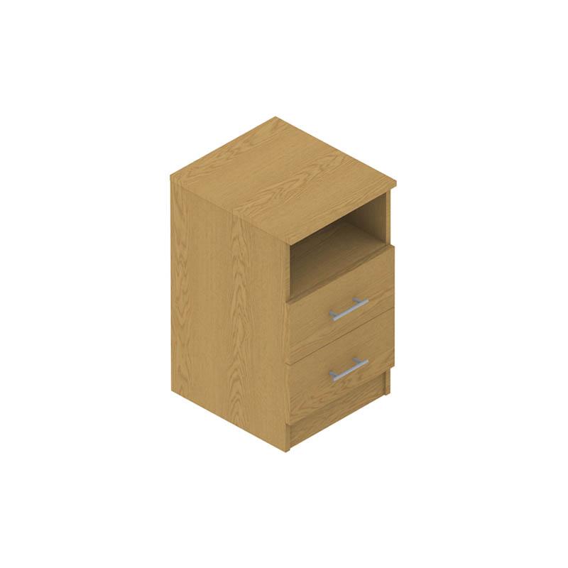 Colorado Dormitories – 2 drawer cabinet