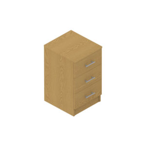 Colorado Dormitories – 3 drawer cabinet