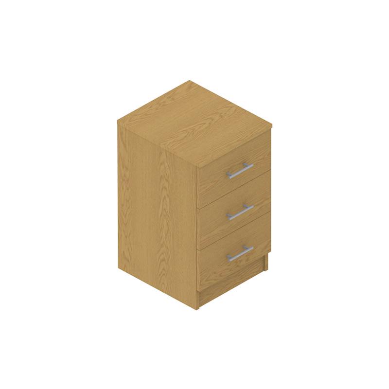 Colorado Dormitories – 3 drawer cabinet