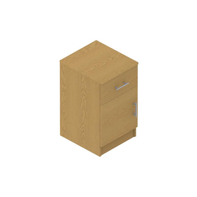 Colorado Dormitories – Cabinet with drawer & door