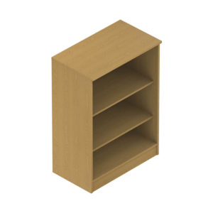 Colorado Dormitories – Bookcase 2 shelves, tall