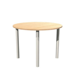 Alpine Tables – Round tables, pole leg