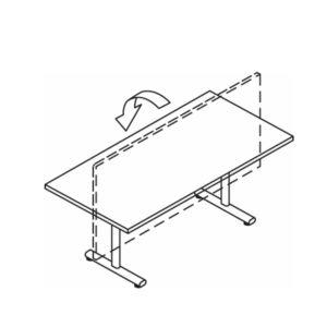Alpine Tilt Top Tables – 700mm Deep