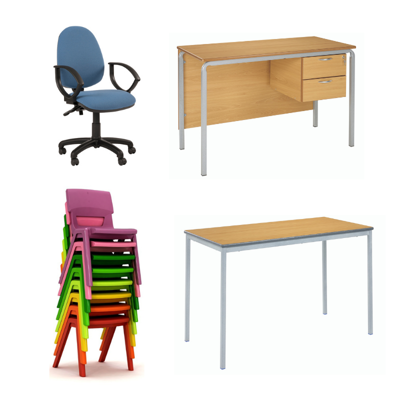 Classroom Furniture Gold Bundle