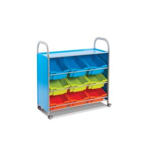Calstor – 9 angled deep tray unit