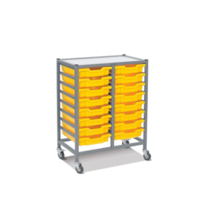Handistor – Shallow tray, double width