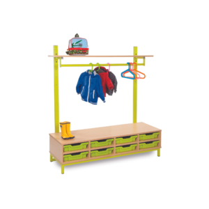 Candy Colours Cloakroom Range – Tray Compartments