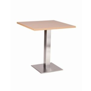 Barletta Stainless Steel Square Dining Base